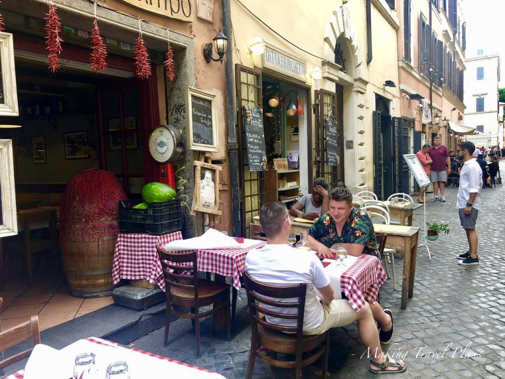 What to see in Rome Italy Europe Trastevere