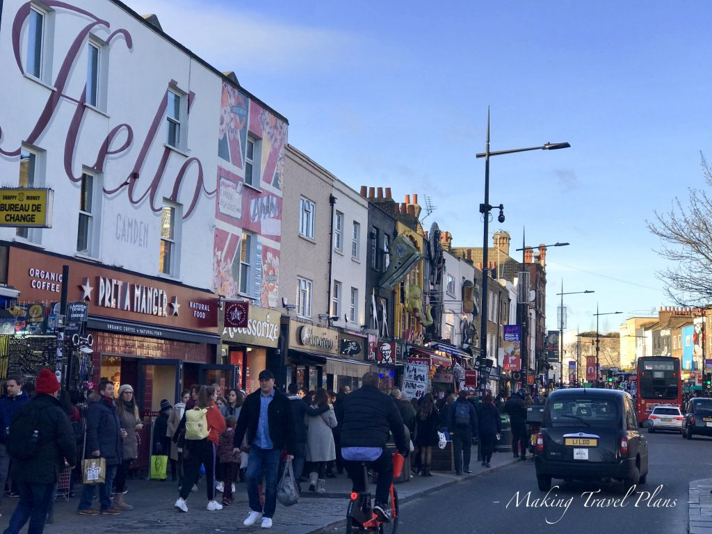 What to do in London Europe. Camden Town