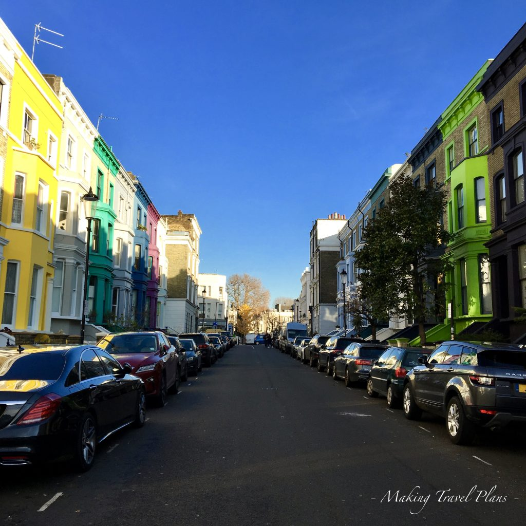 What to do in London Europe. Notting hill