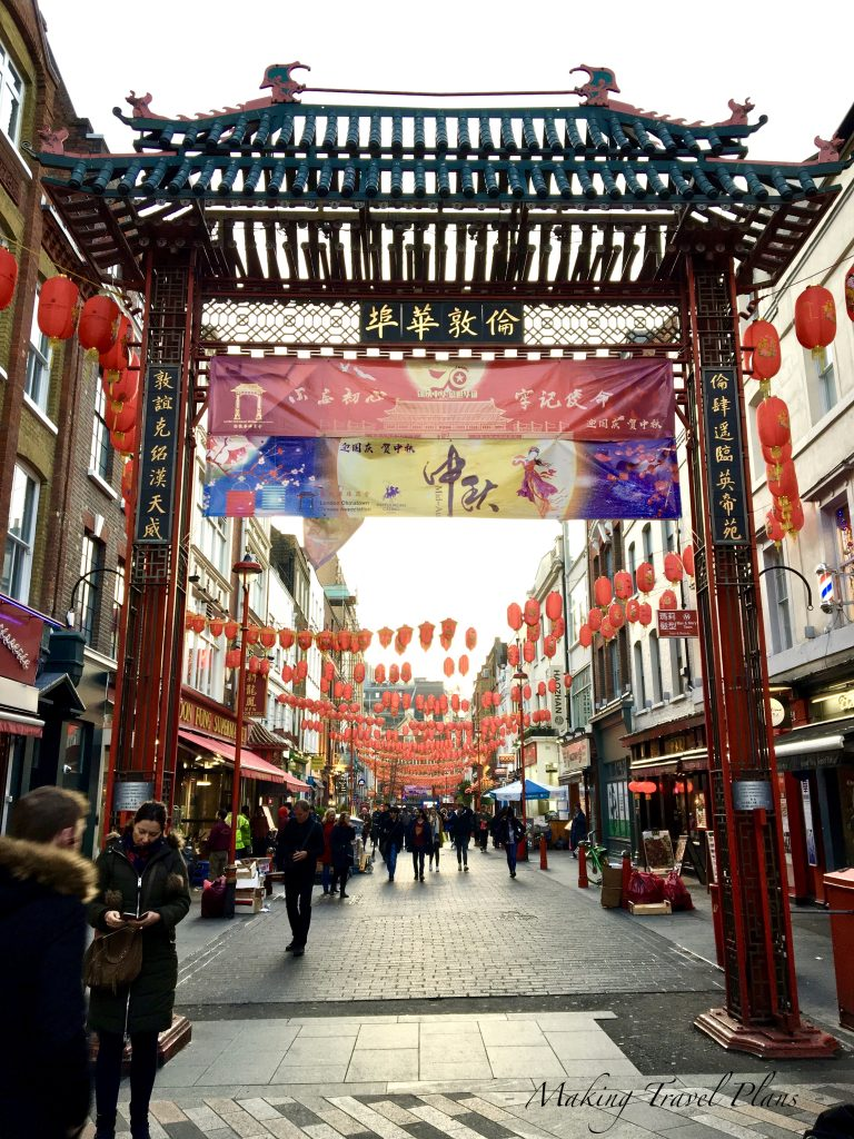 Must see in London Europe. China Town